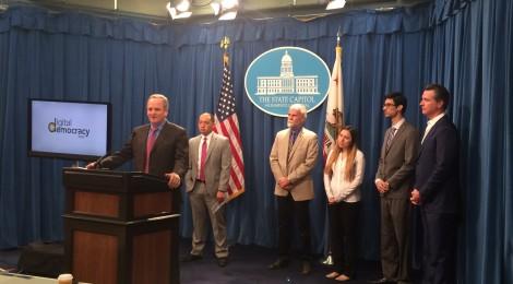 California Launches Digital Democracy Project